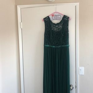 Formal Forest Green Evening Gown